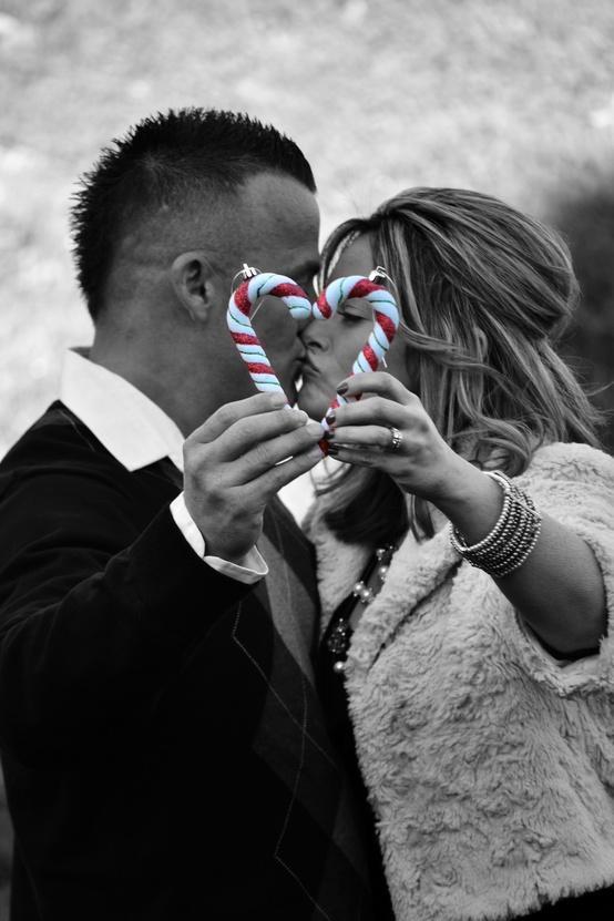 زفاف - عيد الميلاد عرس التصوير الفوتوغرافي الشتاء ♥ صورة الحب