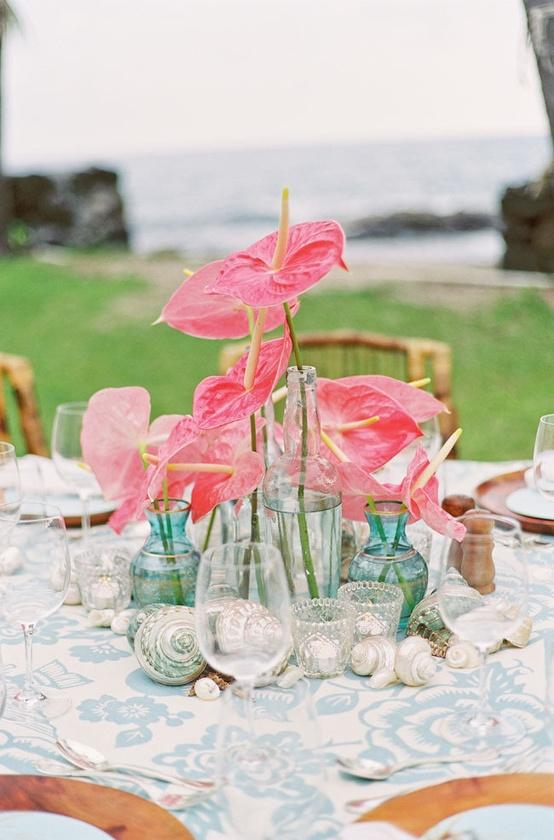 Hochzeit - Mittelstücke