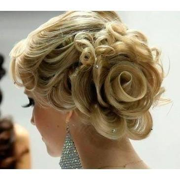 ... Wedding Rose Side Updo Hairstyle ♥ The Best Wedding Hairstyles