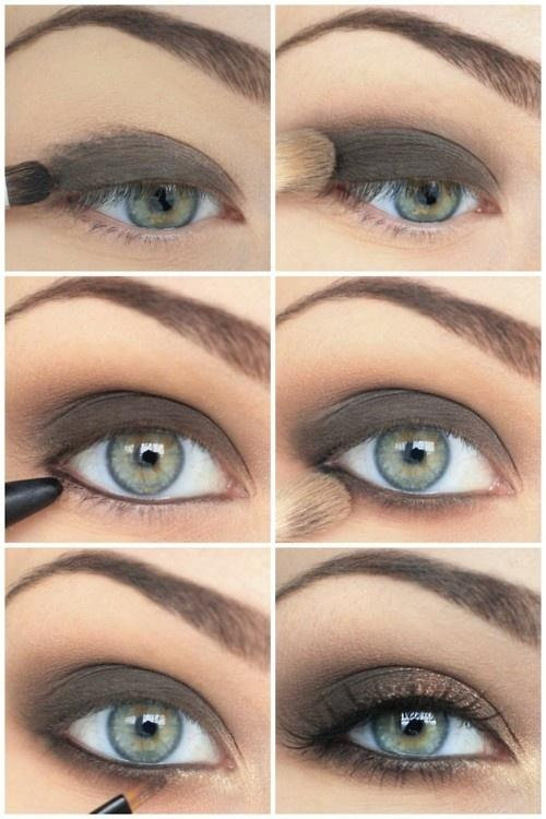 Easy Bridal Makeup Steps : Simple Eye Makeup Steps Images and Pictures - Becuo