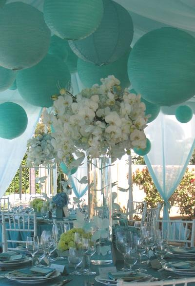 Dekor hochzeitsdeko ideen 1919760 weddbook for Baby blue wedding decoration ideas