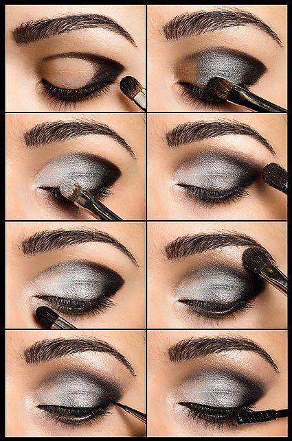 Maquillage maquillage magnifique 1925118 weddbook - Maquillage smoky eyes ...