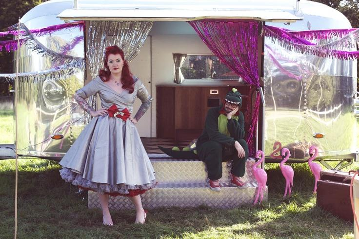 Rockabilly U0026 Vintage Outdoor Wedding Ideas