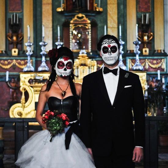 Wedding - Weddings { Halloween }
