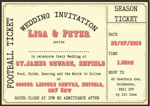 Hochzeit - Hochzeit Einladung Ideen