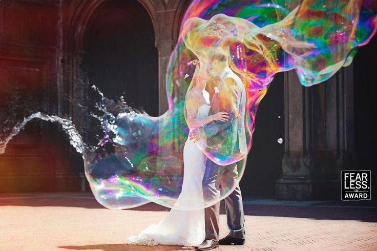Wedding - Fearless Awards - Bride And Groom
