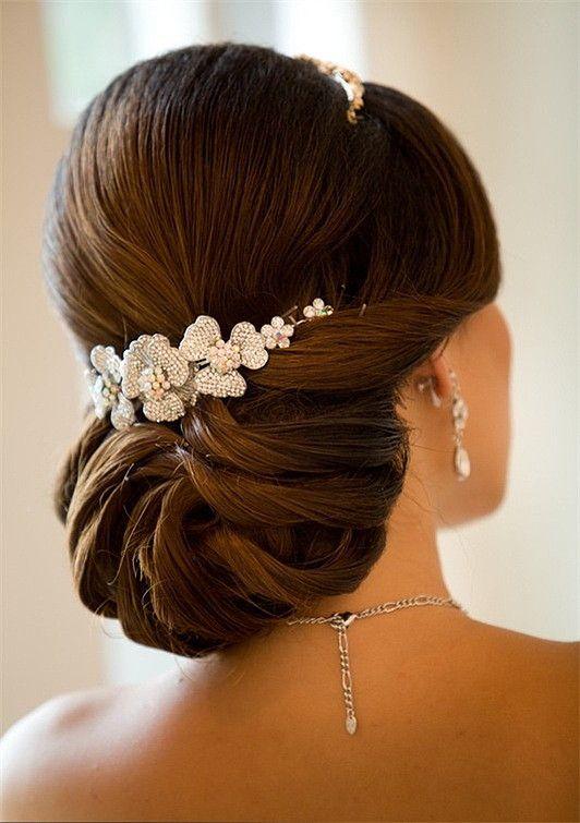 Elegant Hair Buns Styles Updo Hair Model  Wedding Updos #1981620  Weddbook
