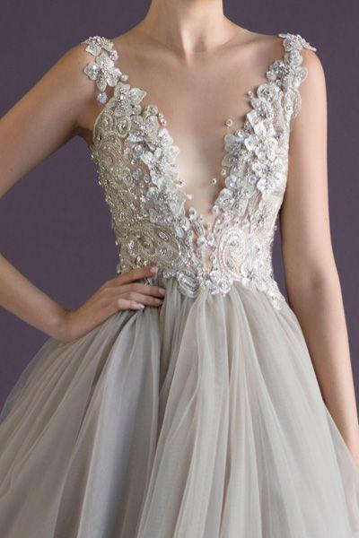 Dress beading bling and detail 1982655 weddbook for Wedding dress bling detail