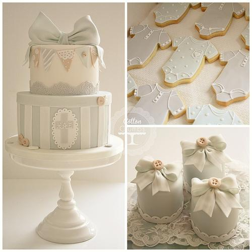 Hochzeitstorten - Taufe Kuchen, Kekse Und Mini Iced Kuchen #1987469 ...