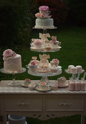Свадьба - Урожай чаепитие Пустыня Таблица