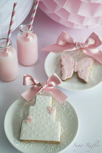 Свадьба - Свадьба Favour Печенье