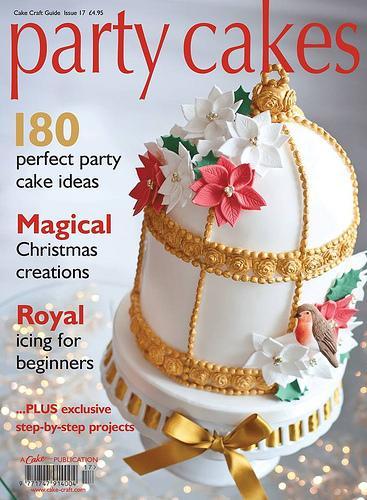 Свадьба - Вечеринка Торты на обложке журнала