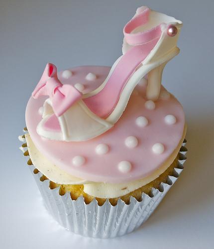 Schuhe Cupcake