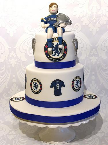 Wedding - Chelsea Football Cake