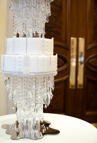 Свадьба - Кристалл Свадебный торт