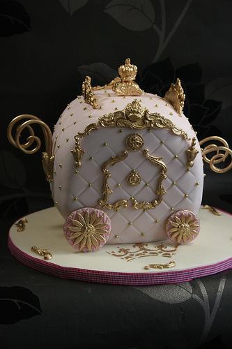 Wedding - Royal Carriage Cake