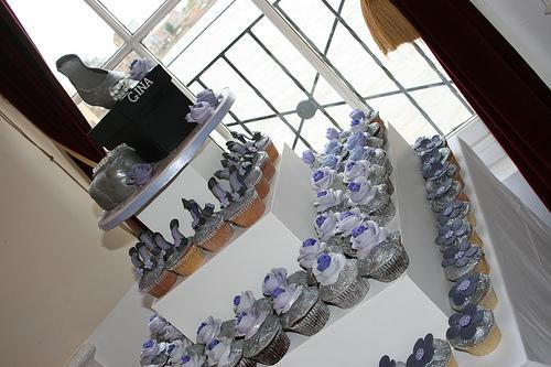 زفاف - الكعك لعيد ميلاد الحزب 40TH