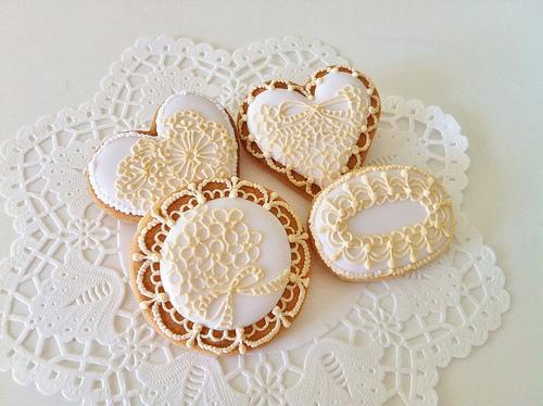 Свадьба - Кружева Печенье