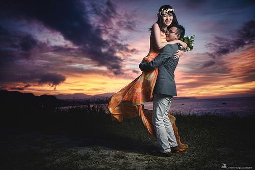 Wedding - [Wedding] Sunset Moment