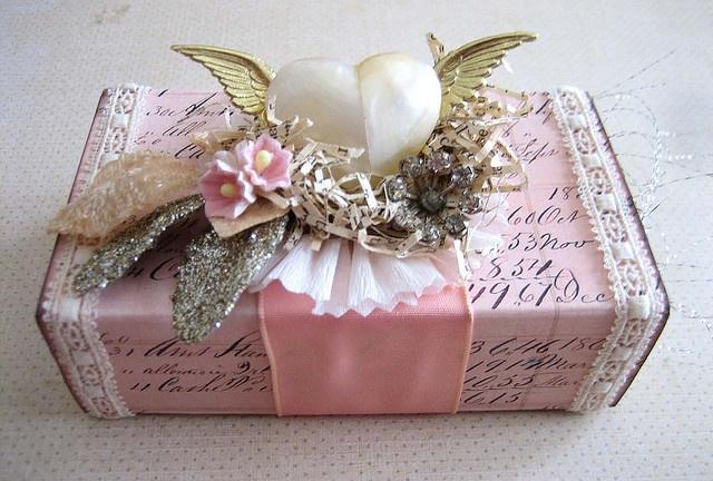 Ideas For Wrapping Wedding Gifts: Gift Wrapping #1992053