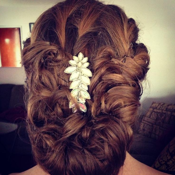 Hochzeit - Haar tun