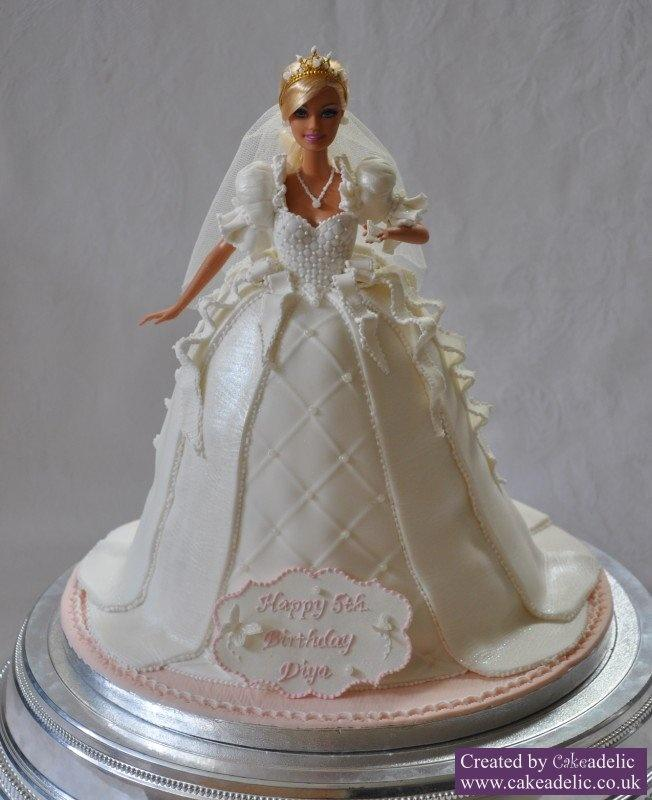 Easy Doll Cake Images : Wedding Cakes - Cakes - Doll Cake Tutorial #2007955 - Weddbook