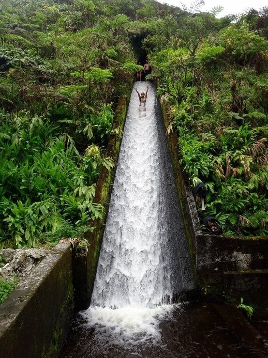 Mariage - Canal Water Slide, Bali, Indonesia.