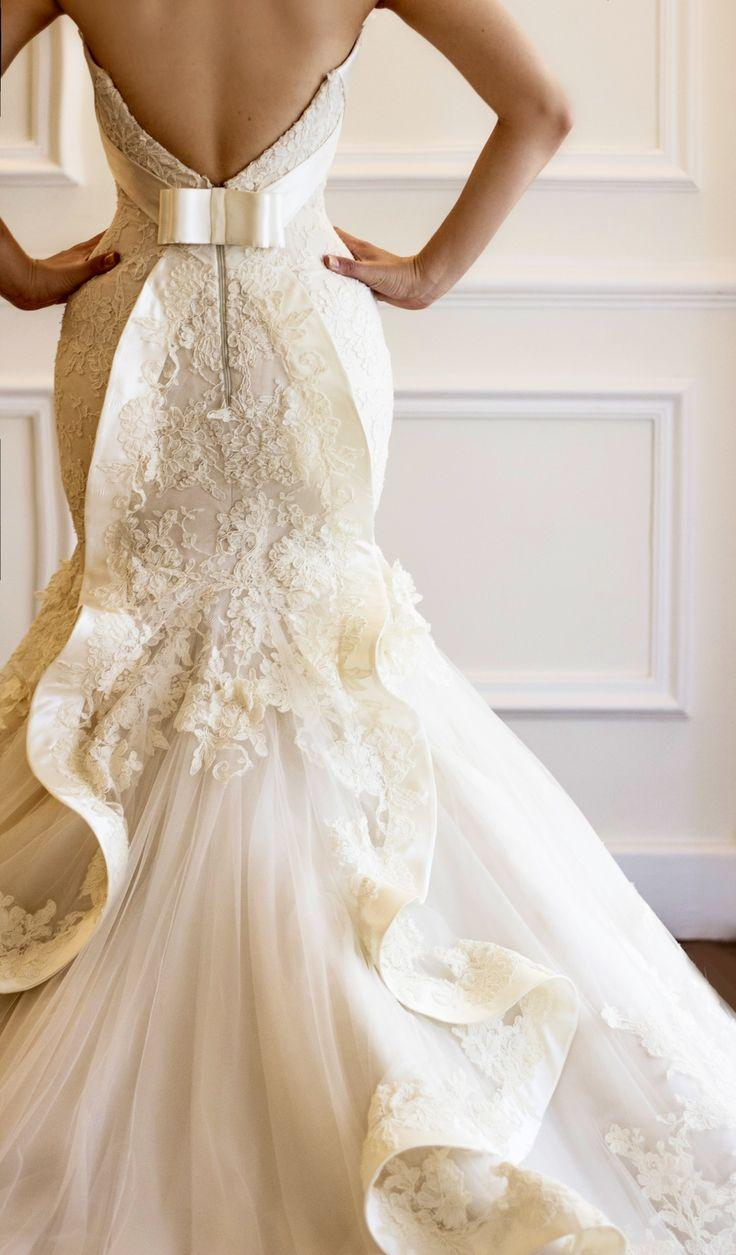 Lace Wedding - Bridal French Lace Gown By Maison Yeya #2026737 ...