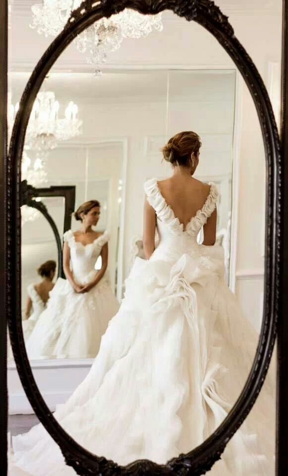 210901e470b6 Elegant White Wedding Gown By Steven Khalil #2027708 - Weddbook