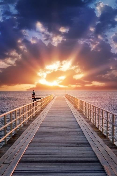 One Point Perspective Myrtle Beach Boardwalk