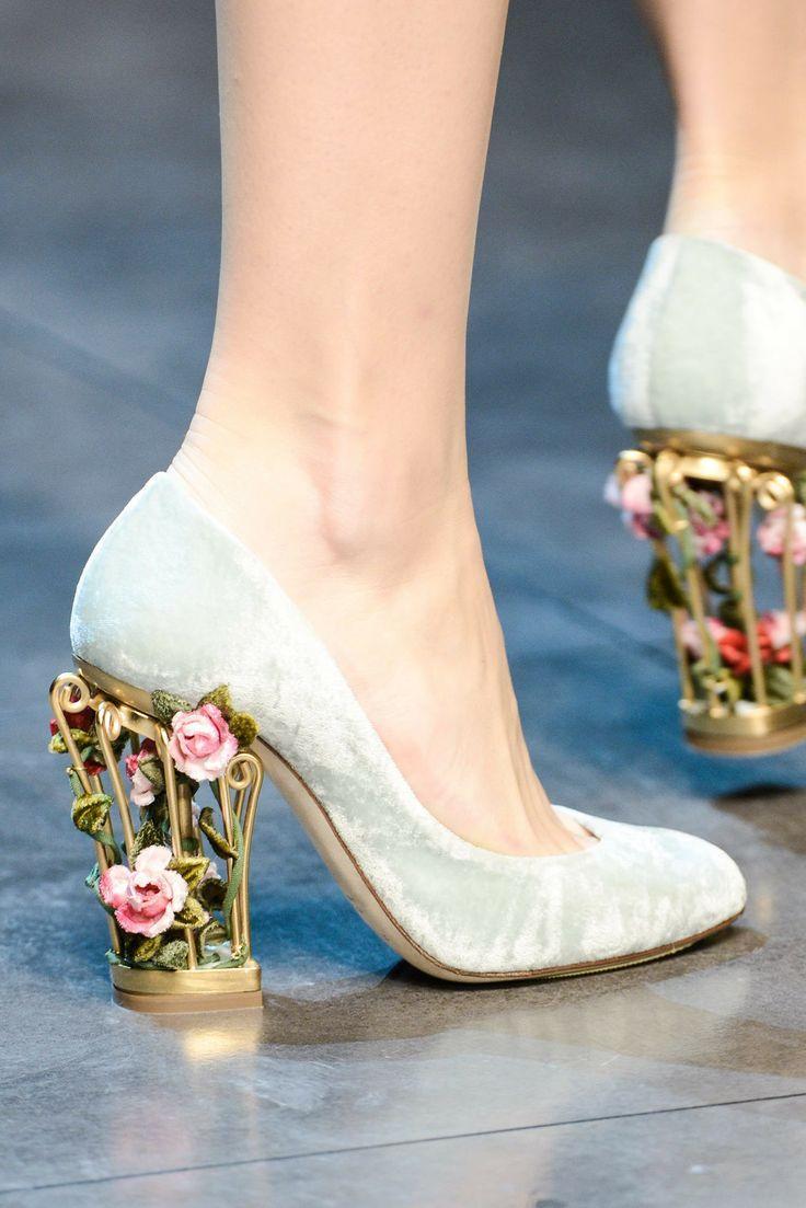 Свадьба - Dolce & Gabbana 秋冬 2013 美鞋篇