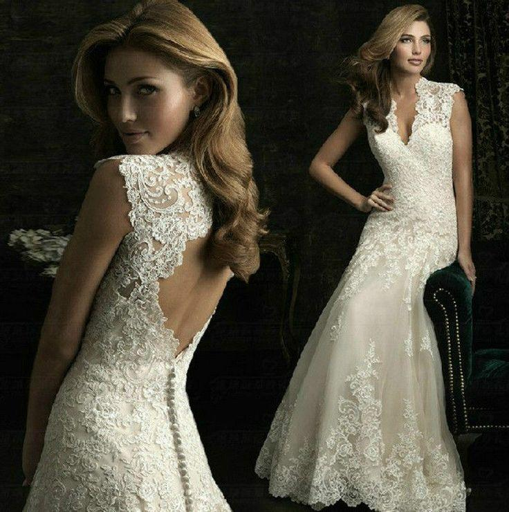 Size 2 Wedding Dresses For  : Wedding dresses narrow neck white floral dress