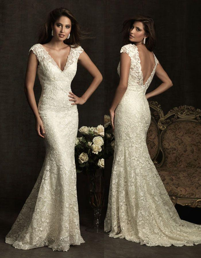 new white ivory wedding dress custom size 2 4 6 8 10 12 14