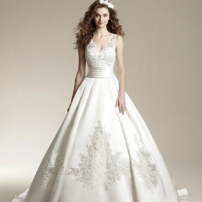 White Retro Wedding Dresses 115