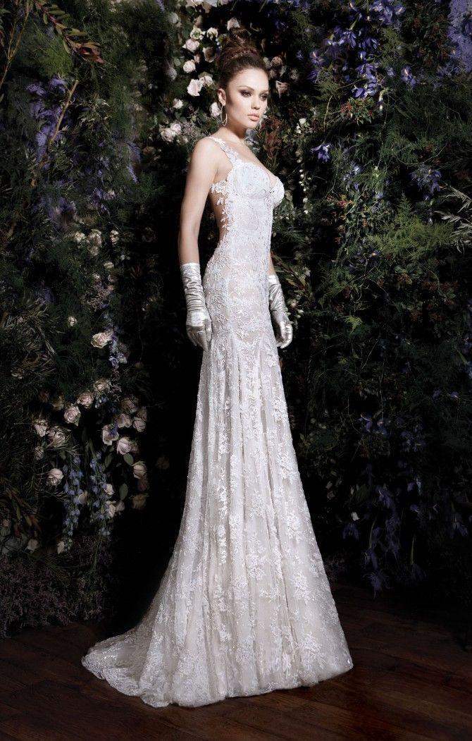 Wedding Dresses Lace Backless : Hot sexy elegant backless lace bridal wedding dresses