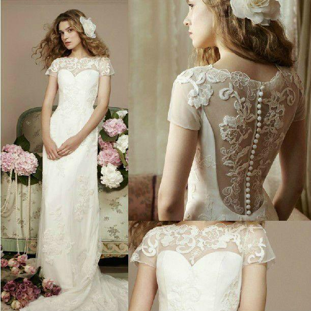 Amazing White Wedding Dress To Increase Your Beauty #2043179 - Weddbook