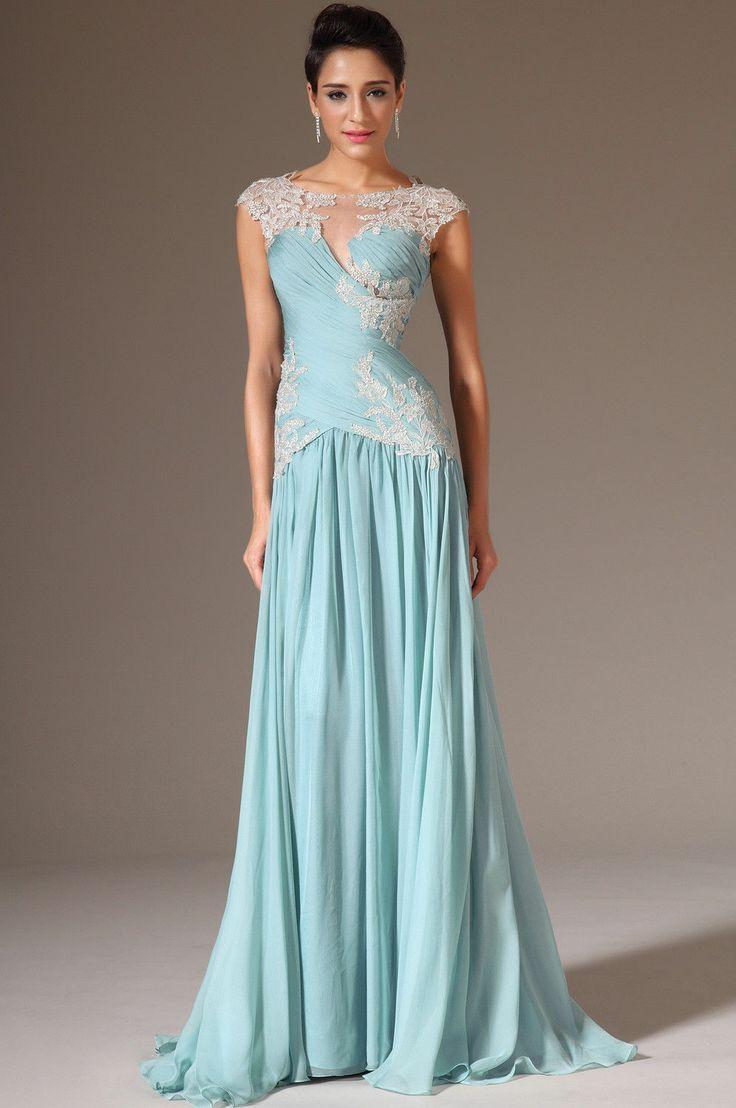 Elegant Long Formal Party Prom Gown Pageant Dress Celebrity Evening ...