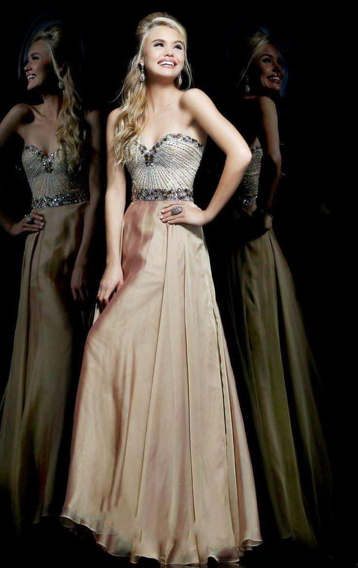 Custom Beaded Long Chiffon Party Prom Pregnant Dresses Celebrity ...