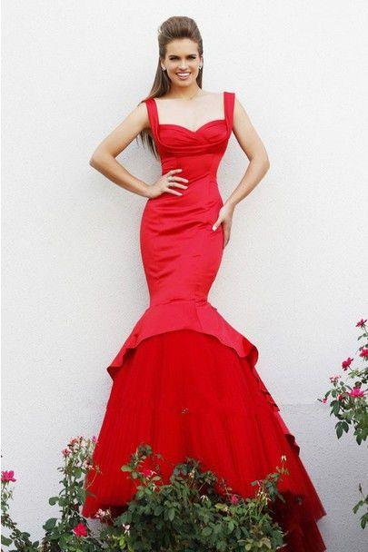Wedding - Sexy Mermaid Evening Formal Dress Long Party Prom Gown Celebrity Dress Custom
