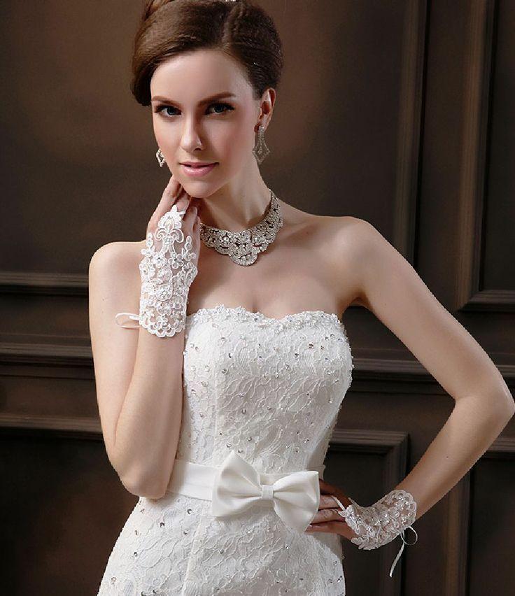 Blanc Blanc Cass 233 Dentelle De Mariage Brides Satin