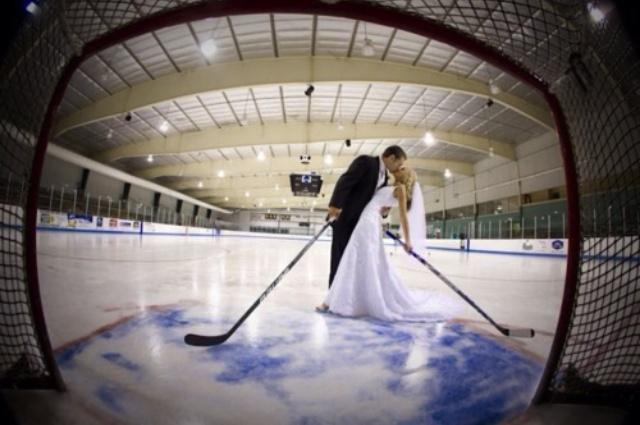 Wedding - Hockey Wedding