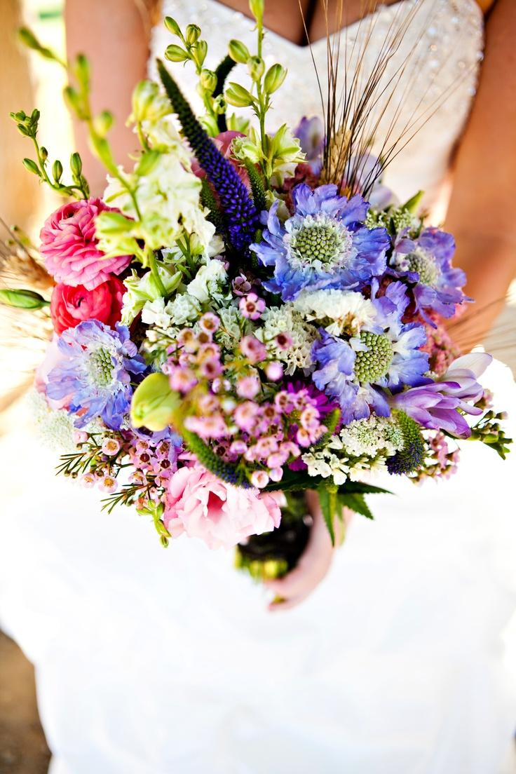 Beautiful wedding bouquet containing wild flowers 2051095 weddbook beautiful wedding bouquet containing wild flowers izmirmasajfo