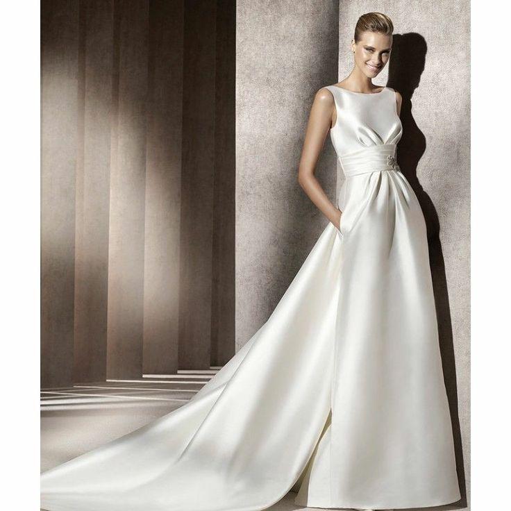 New White Ivory Wedding Dress Custom Size 2 4 6 8 10 12 14 16 18 20 22