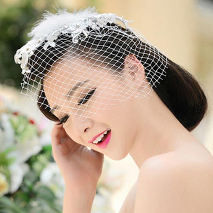 Свадьба - Люкс для горного Хрусталя Кружевной Цветок Чародей Чистая Пром Зажим для Волос HR253