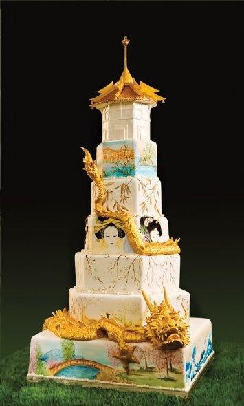 Mariage Oriental Oriental Gateau De Mariage De 2051999