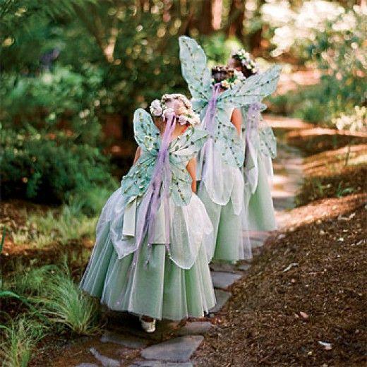 Fairy wedding medieval fairy themed wedding 2052020 for Fairy themed wedding dresses