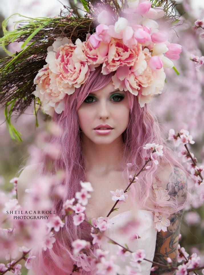 sheila carroll photography see more about pink hair pink and tutus