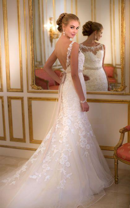 Wedding - Elegant gown for the elegant beauty.