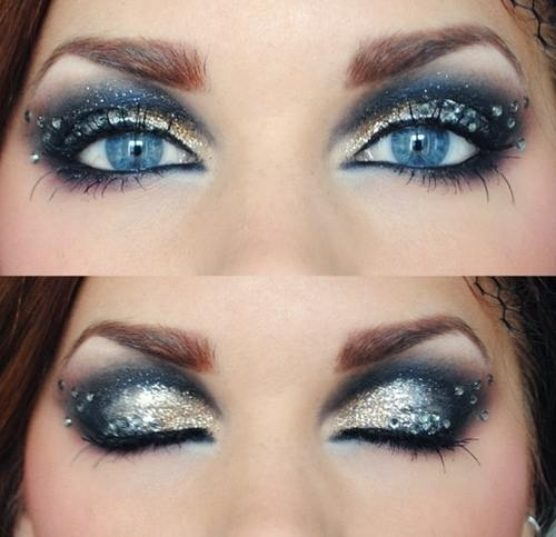 blue eyes when combined with the silver colored eye shadow. Black Bedroom Furniture Sets. Home Design Ideas