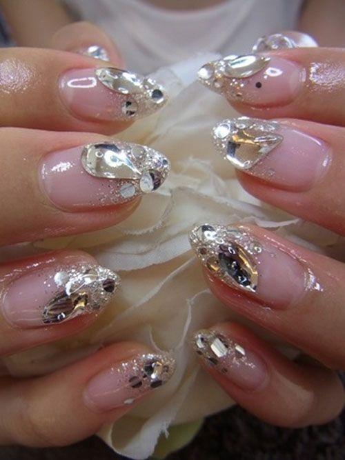 Wedding Nail Designs - Bridal Nail #2057035 - Weddbook